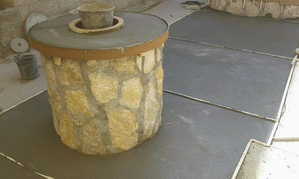 The well at Nablus is finished.